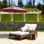 Atlantis Double Chaise with TG Umbrella
